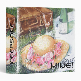 PICNIC IN THE PARK 3 RING BINDER
