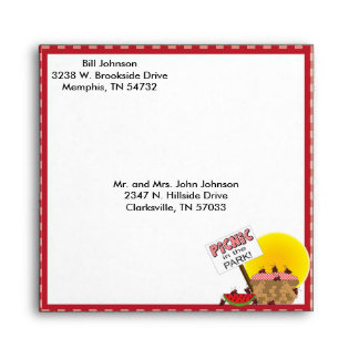 Picnic In the Park | Any Occasions | Reunion Envelopes