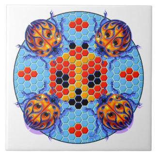 Picnic Ladybug Tile