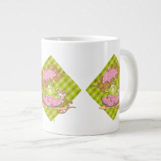 Picnic Pals Frog & Mouse Large Coffee Mug