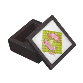Picnic Pals Frog & Mouse Premium Jewelry Box