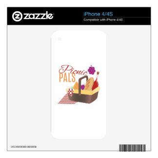 Picnic Pals iPhone 4 Decals
