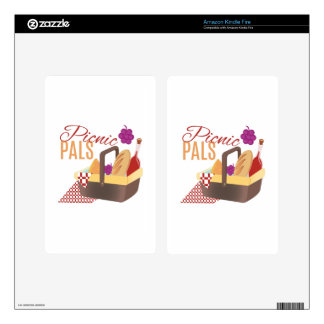 Picnic Pals Kindle Fire Decal