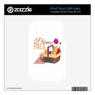 Picnic Pals iPod Touch 4G Skins