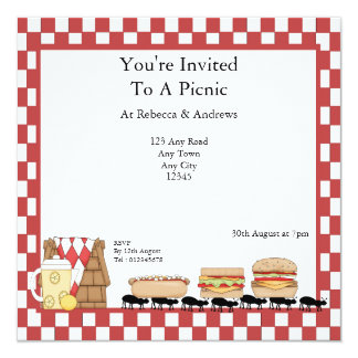 Picnic Party Card