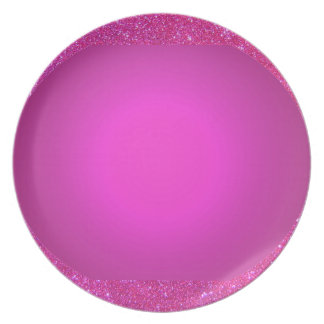 Picnic Party Plate 1 Pink Sparkle Pink 1