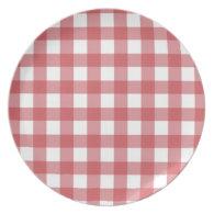 Picnic Pattern Dinner Plates