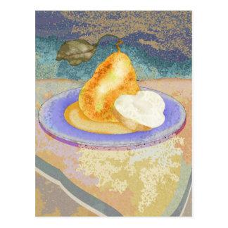 Picnic Pear Postcard