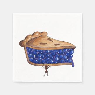 Picnic Pie Standard Cocktail Napkin