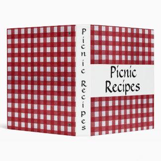 Picnic Recipes Binder