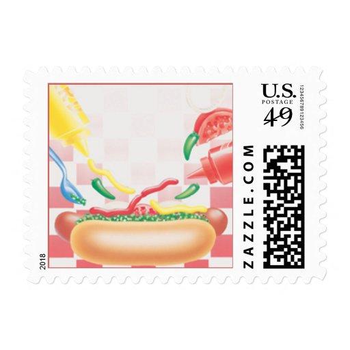 Picnic © stamp