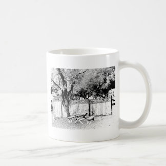 Picnic Table at the Campground Coffee Mugs