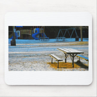 Picnic Table Mouse Pad
