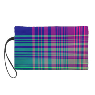 Picnic Tablecloth Wristlet Clutches