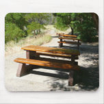 Picnic Tables in the Park Mouse Pad