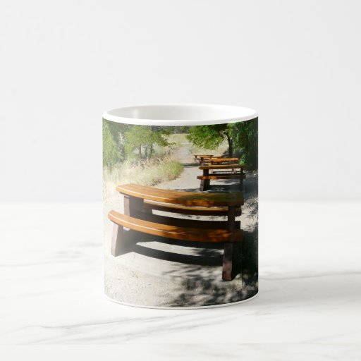 Picnic Tables in the Park Mug
