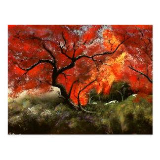 Picnic Tree Postcard