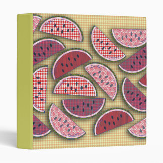 Picnic Watermelons 3 Ring Binder