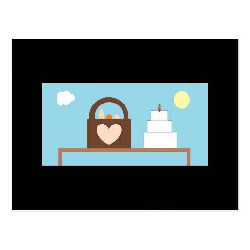Picnic Wedding Post Card