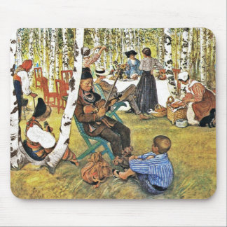 Picnic with Grandpa and Family Mouse Pad