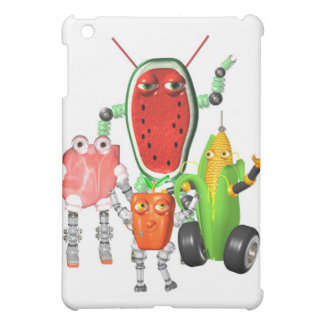 PicnicBots are funny food robots Cover For The iPad Mini