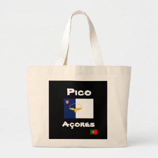 Pico Azores Custom Tote Bag
