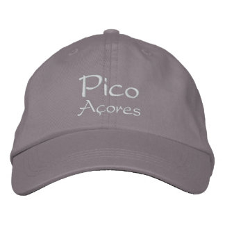 Pico - Azores Embroidered Baseball Hat