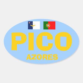Pico* Azores European-style Sticker