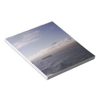 Pico Azores Mountain Sea Photo Notepad