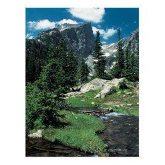 Pico de Hallett Parque Nacional de las Montañas R Tarjeta Postal