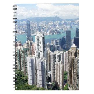 Pico de Hong Kong Libro De Apuntes Con Espiral