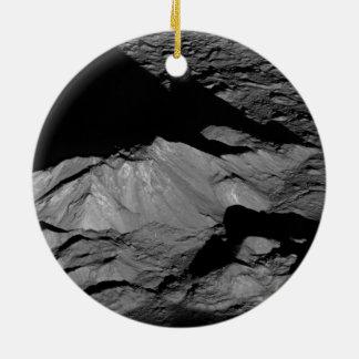 Pico de la central del cráter de Tycho de la luna  Ornamentos De Reyes