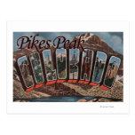 Pico de los lucios, Colorado - escenas grandes de Postal