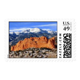 Pico de los lucios, Colorado Springs Estampilla