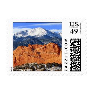 Pico de los lucios, Colorado Springs Sellos Postales