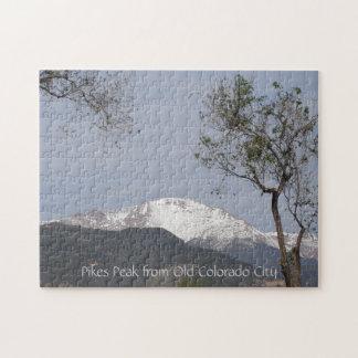 Pico de los lucios de la ciudad vieja de Colorado Puzzle Con Fotos