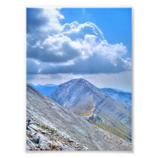 Pico de montaña de Vihren Fotografías