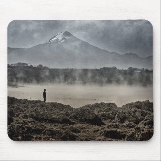 Pico De Orizaba From Achichic Lake In Puebla Mouse Pad