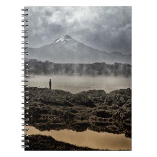 Pico De Orizaba From Achichic Lake In Puebla Notebook