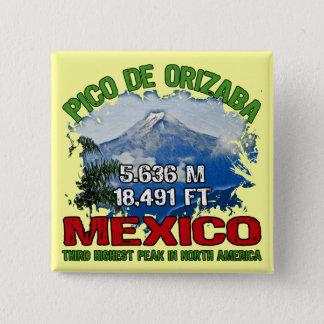 Pico De Orizaba Pinback Button