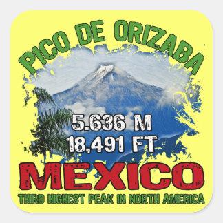 Pico De Orizaba Square Sticker