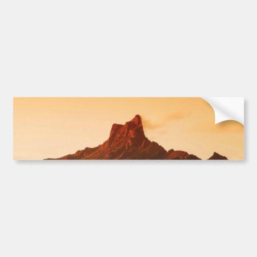 Pico de Picacho - Arizona Pegatina De Parachoque