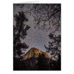 Pico de Tahquitz en la tarjeta de felicitación de