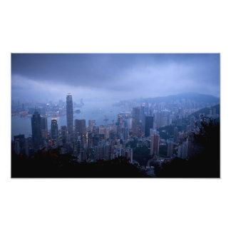Pico de Victoria, Hong Kong. Foto