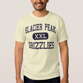 Pico del glaciar - grisáceos - alto - Snohomish Playeras