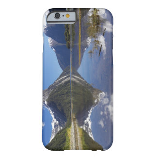 Pico del inglete, Milford Sound, nacional de Funda De iPhone 6 Barely There