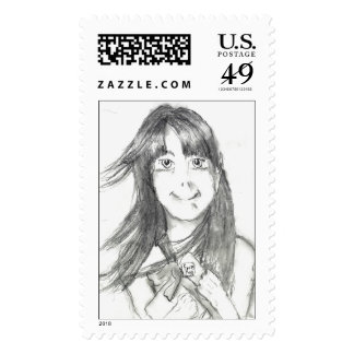 "Pico ""Hope she likes it"" Stamp"