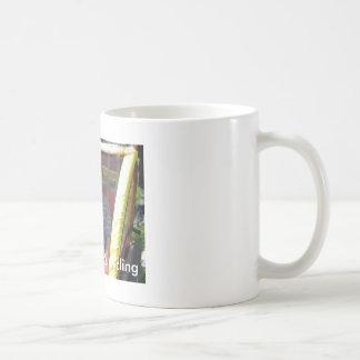 Pico que completa un ciclo - traer a la familia taza de café