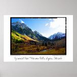 Pico y Belces marrón, Aspen, Colorado de la pirámi Impresiones