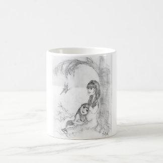 Pico y madre taza clásica